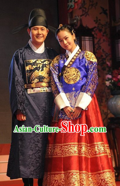 Korean Imperial Palace Princess Costumes for Women