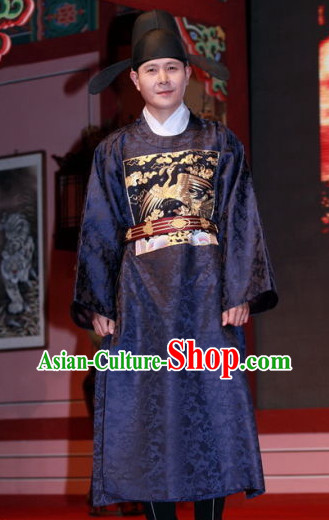 Traditional Korean Official Uniform Costumes for Men