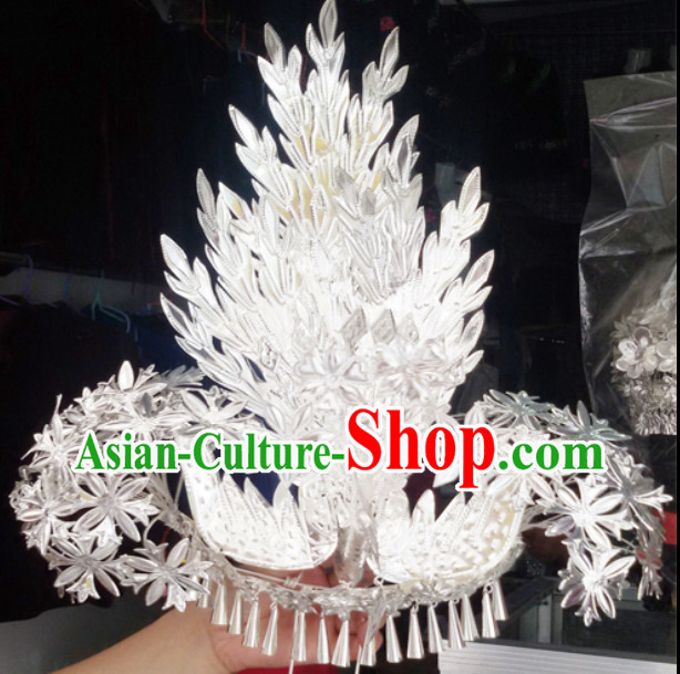 Traditional Silver Miao Hair Decorations