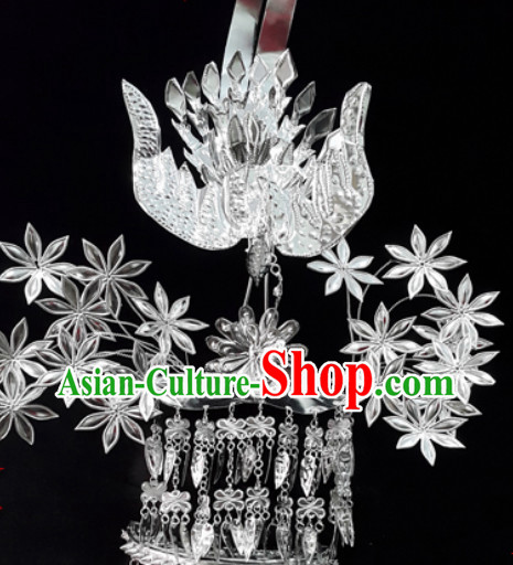 Traditional China Silver Hat