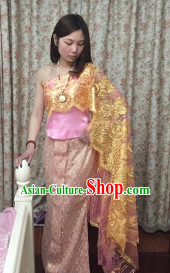 Traditional Thailand National Costume for Women