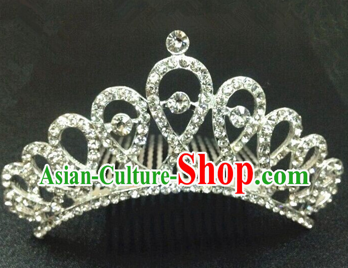 Traditional Thailand Crown Hair Decorations for Women