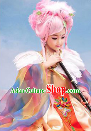 Asian Princess Cosplay Costumes for Kids