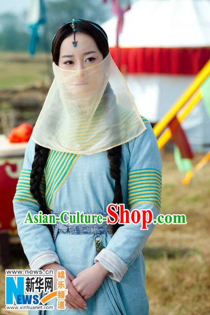 Asian China Mysterious White Veil