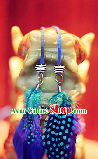 Asian Classical Dancing Earrings