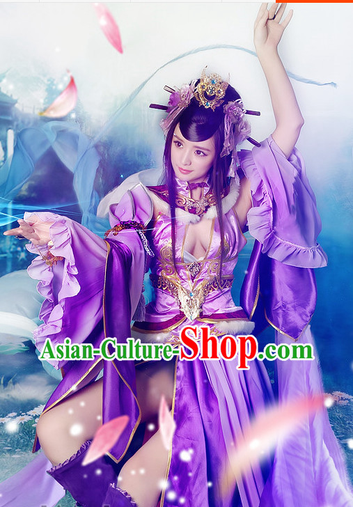 Asian Empress Sexy Cosplay Costumes and Accessories