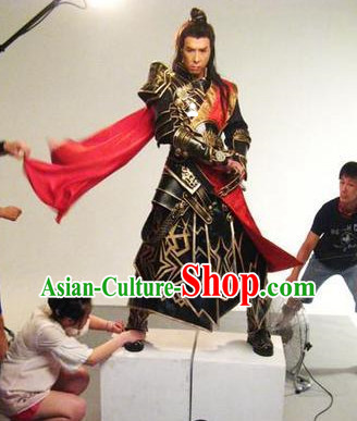 Asian China Gladiator Costumes and Cape Complete Set