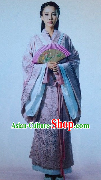 Asian China Princess Hanfu Dress Complete Set for Women