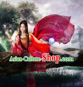Asian Ancient Style Queen Carnival Costumes for Women