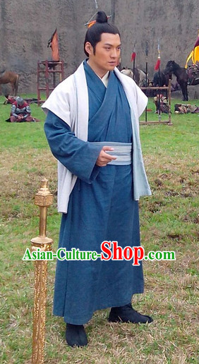 Asian China Civilian Hanfu Dress for Men