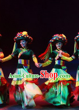 China 56 Ethnic Costumes and Hat for Women