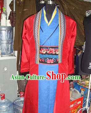 Chinese Stage Swordsman Costumes