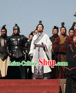 Chinese Prime Minister TV Play Costumes and Coronet