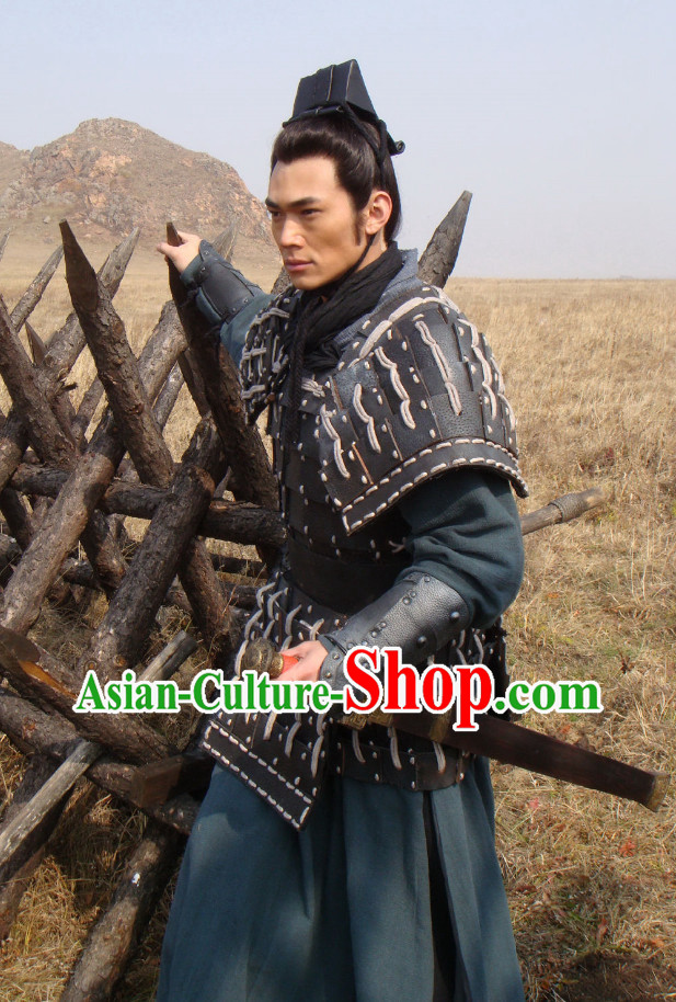 Chinese General Terra Cotta Warrior TV Play Armor Costumes