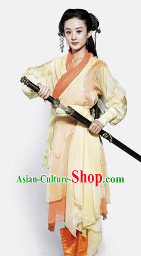 China Traditional Swordswomen Costumes