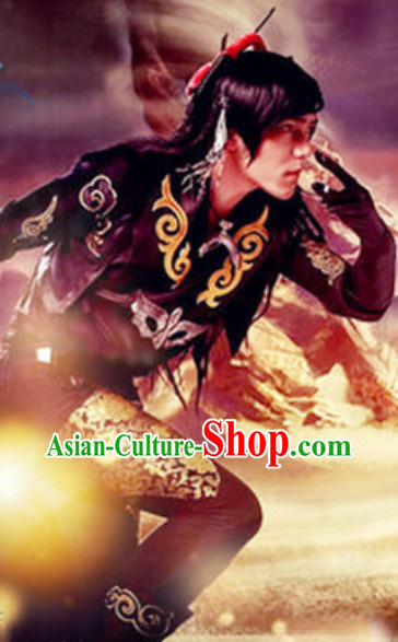 Chinese Empire Prince Halloween Costumes for Men