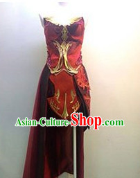 Asian Beauty Style Cosplay Costumes for Girls