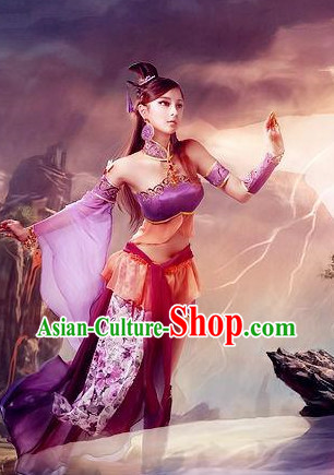 Asian Sexy Japanese Fairy Anime Costumes
