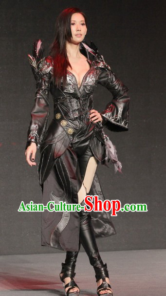Asian Sexy Japanese Style Future Warrior Anime Costumes