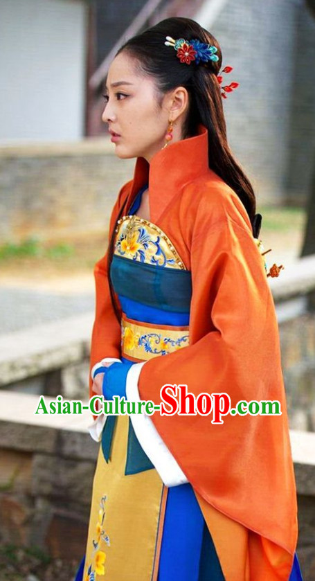 Chinese Classic Princess Costume and Headwear