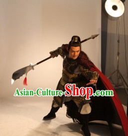 Ancient China General Warrior Armor Costumes for Men