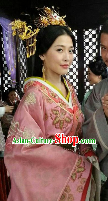 Chinese Princess Hair Jewelry Set