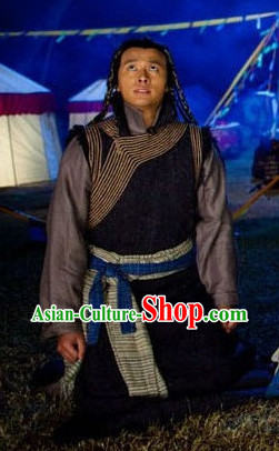 Chinese Traditional Ethnic Minority Men Dresses