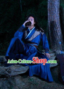 Chinese Traditional Swordsmen Robe for Boys