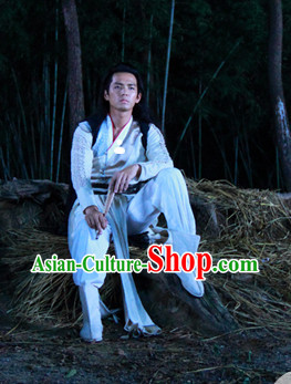Chinese Traditional Swordsmen Wear for Boys