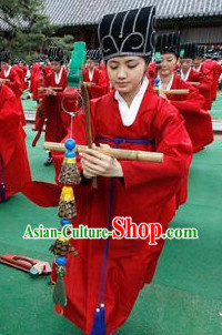 Korean Traditional Student Costumes and Hat for People