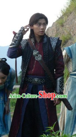 Chinese Lengend of the Ancient Sword Swordman Cosplay Costumes