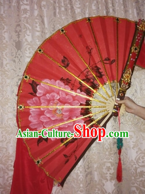 Handmade Chinese Stage Dance Fan