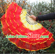 Chinese Festival Parade Lace Hand Fan