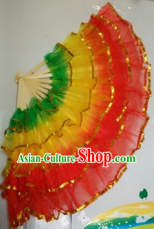 Five Layers Chinese Professional Stage Performance Hand Fans