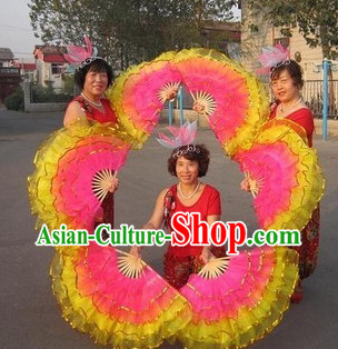 Five Layers Chinese Dancing Hands Fan