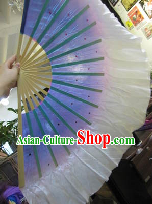silk dancing fan