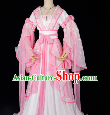 Chinese Pink Princess Clothing for Girls.