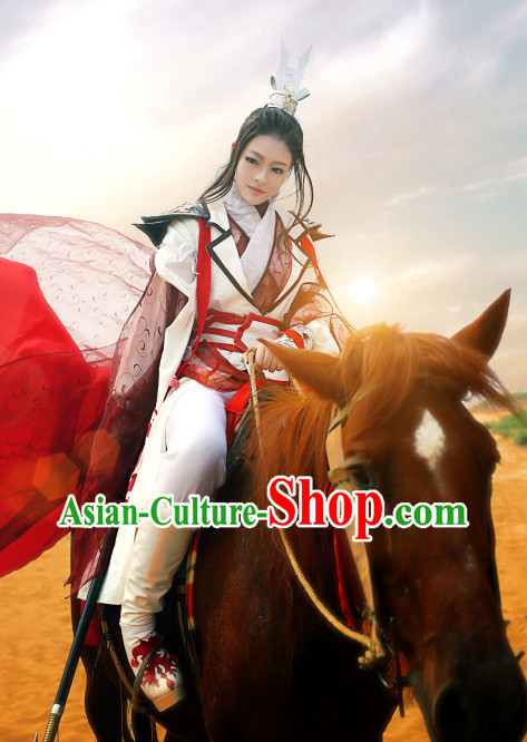 Chinese Traditional Swordsman Japan Clothes