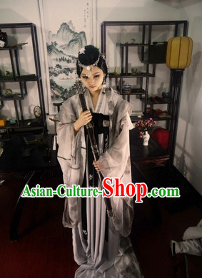 Chinese Mountain Painting Anime Cosplay