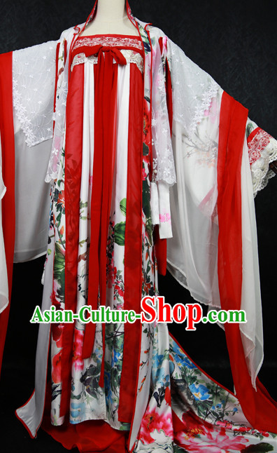 Chinese Empress Cosplay Costumes Complete Set