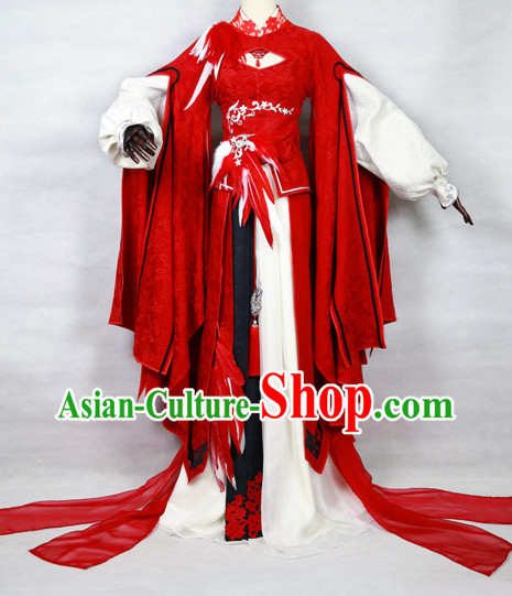 Chinese Cosplay Costumes Complete Set