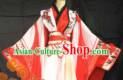 Chinese Swordsman Costumes