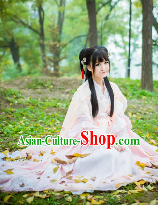 Chinese Princess Clothing and Hair Accessories Full Set