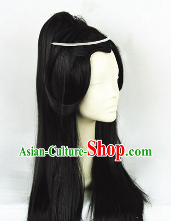 Ancient Chinese Black General Wig