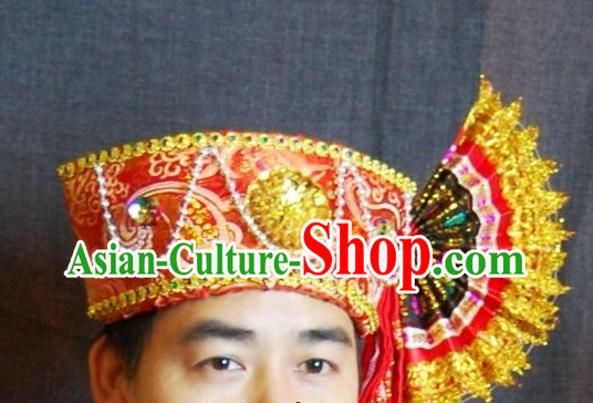 Traditional Asian Thailand Headpieces for Men