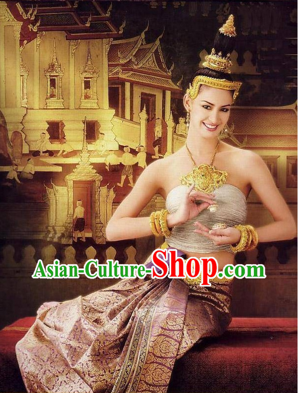Formal Thai Dance Costumes for Women