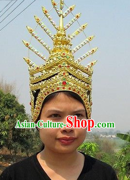 Traditional Thai Golden Hat