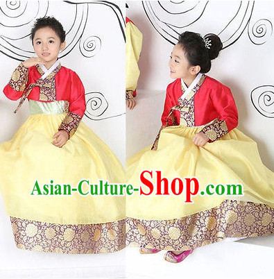 Asian Fashion online Korean Traditional Dresses for Kids