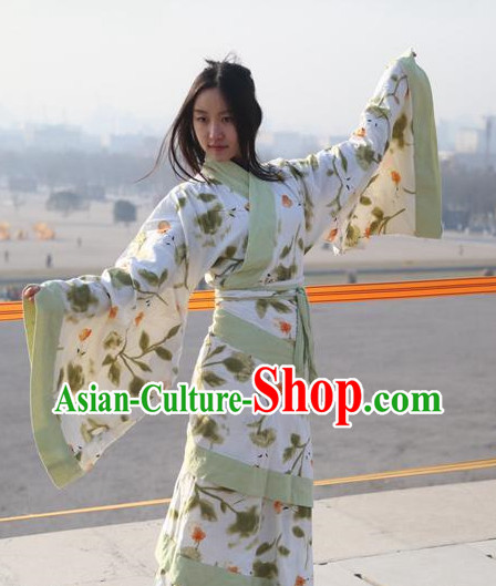 Chinese Hanfu Quju Clothing for Women