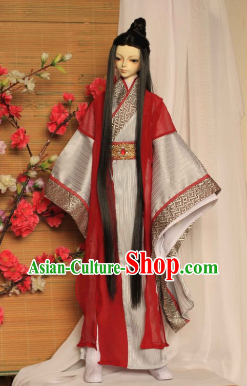 China Classical Prince Hanfu Robes for Men